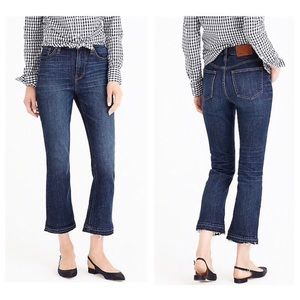 NWT J. Crew Billie Demo Boot Crop Jeans brookdale